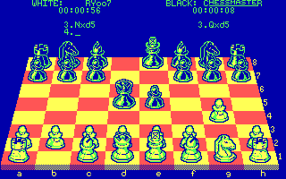 Chessmaster 2000 small DOS games