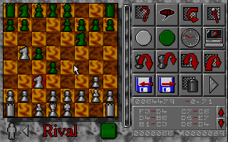 rival-chess small DOS games